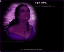 Purple tears... by CarpeDiem70