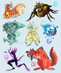 FREE Monster Adopts (CLOSED!) by RoomsInTheWalls