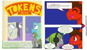 Mishap goes the Arcade part 1 by ladypixelheart