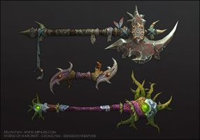 Cataclysm Weapons 2 by turpedo