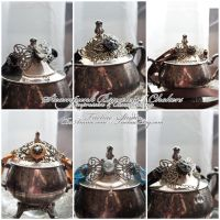 Steampunk Bracelets : 01 by taeliac