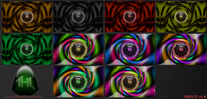 Deep_Mix_Abstract Wall Pack by BadBreezeR