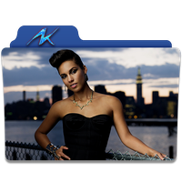 Alicia Keys Folder Icon 2 by gterritory