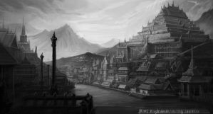 The Gold city by teety