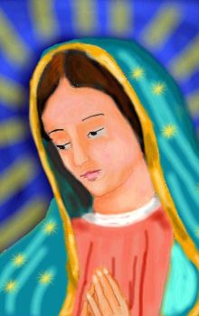 Our Lady of Guadalupe by Peekeeboo