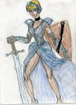 Cinderella Warrior princess by theaven
