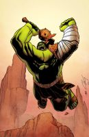 Planet Hulk by spidermanfan2099