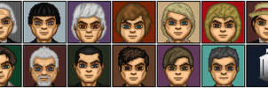 The 13 Doctors by Valeyard-Parallax