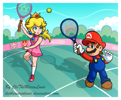 .:The Sporty duo:. by CloTheMarioLover