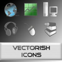 VECTORISH ICONS by aeonflux707