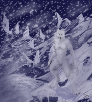 White Death - Commission by KeksWolf