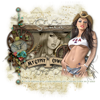 Gypsycowgirl1 by CrazyFantasy71