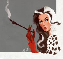 Cruella De Vil by artist2point5
