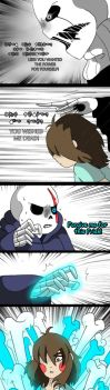 Undertale New world (page 87) by joselyn565