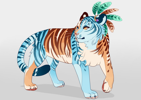 Tiger Design Auction! closed by Sadbloom