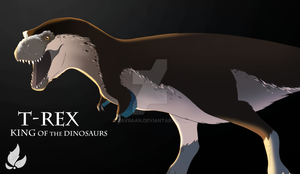 T-rex from Naturalis - improved by zavraan
