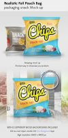Snack Bag Mockup by theanthnonyrich