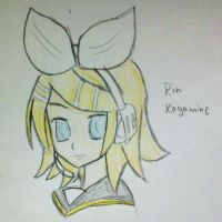 Rin Kagamine by Fil101