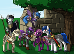 Commission - A Well Balanced Party by Valkyrie-Girl
