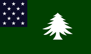 Idea for a new Flag of Vermont (no 1) by Marmocet