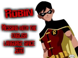 Robin by youngXjusticeXloverr