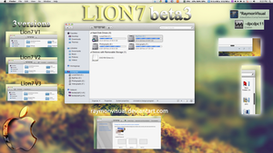 Lion7 beta3 released by RaymonVisual
