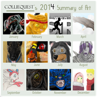 2014 Summary of Art [complete] by Colliequest