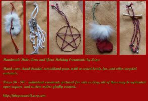 2011 Holiday Ornaments 1 by lupagreenwolf