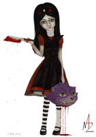 Red Alice by NadzEscapade