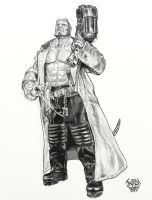 Hellboy by orabich
