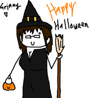 Halloween Witch :3 by Rap3Monst3r