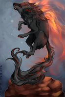 His flames know no bounds by ArthasElric