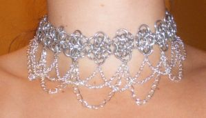 chain cacophony choker by enchantress13
