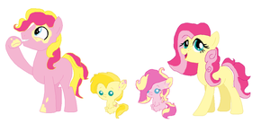 Flutterpie Foals by Yoshi123pegasister