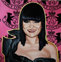 Jessie J painting by SaraSam89
