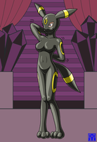 Living Suit of Umbreon 2 by sinrin8210