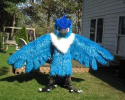 Articuno Cosplay 1 by chibiansem02