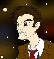 David Tennant, The 10th Doctor by MysteryFanBoy718
