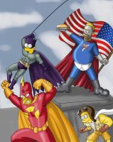 justice league springfield by cssp