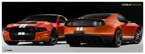 Ford Mustang concept 2in1 - yD by yasiddesign
