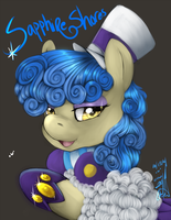 Speed paint :Sapphire Shores by Tacsayo