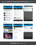 Twitter for Android - with ICS Theme by ghost301