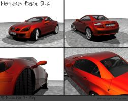 SLK - Red Paint by prox3h