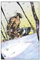 Weapon X by John Timms / Hage Colors by thedigitalgeorge
