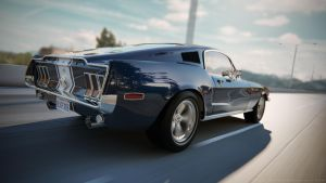 1968 Ford Mustang Cobra Jet by TavoGDL