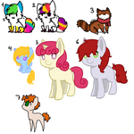 Free Adopts (closed) by Rainbows-Lover