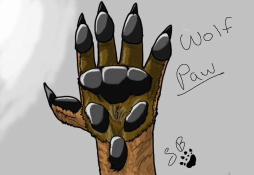 WolfPaw by Sorablue94