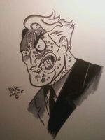 TWO-FACE by ChrisFaccone