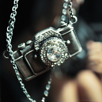 camera necklace by sheisyourjuliet