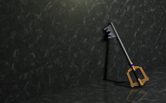 'Nother Keyblade by Wergii